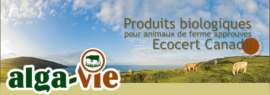 Logo - Alga-Vie, minéraux et suppléments pour animaux