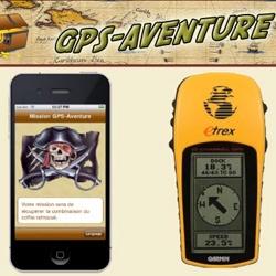 Logo - GPS Aventure, jeux d'orientation