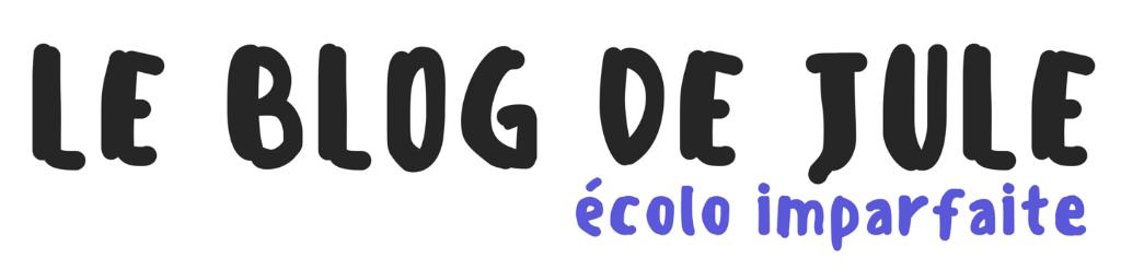 Logo - Le blog de Jule – Écolo imparfaite