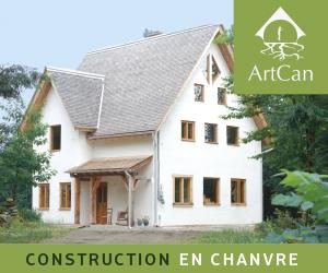 Logo - ArtCan, spécialiste de la construction de chanvre!