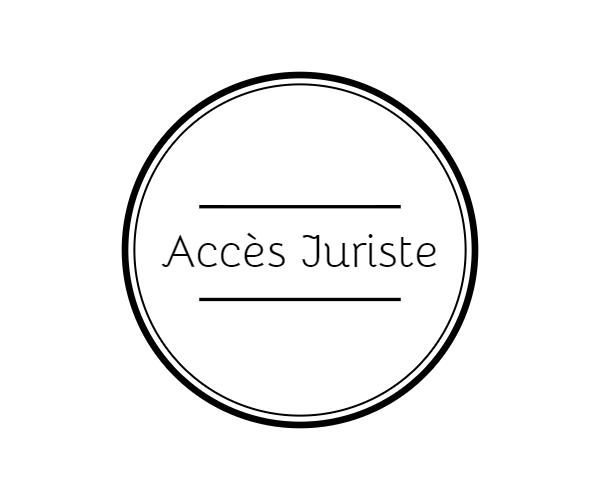 Logo - Accès Juriste