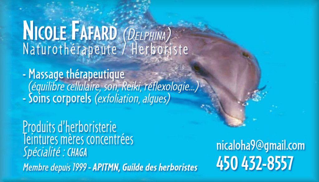 Logo - Nicole Fafard  – Delphina