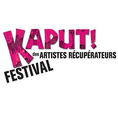 Logo - Kaput! Festival des artistes récupérateurs