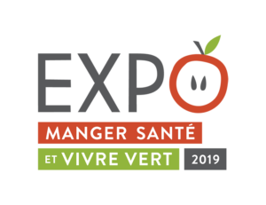 Logo Expo manger santé et vivre vert 2019